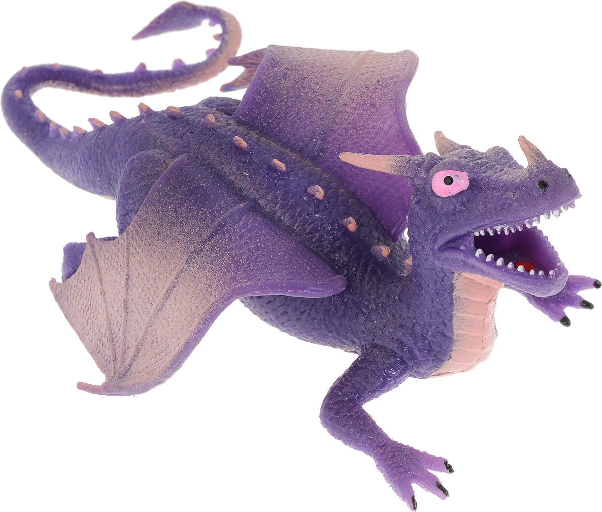 Играем вместе Фигурка Дракон-тянучка цвет фиолетовый игрушки для ванной играем вместе фигурка для ванной играем вместе рet shop