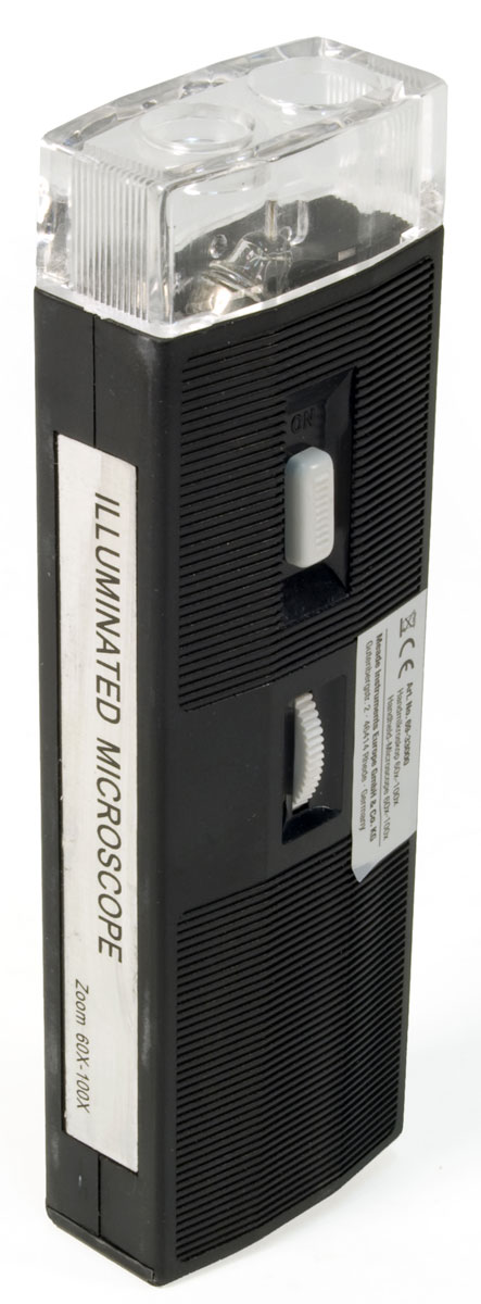 Bresser 60x-100x микроскоп портативный с подсветкой