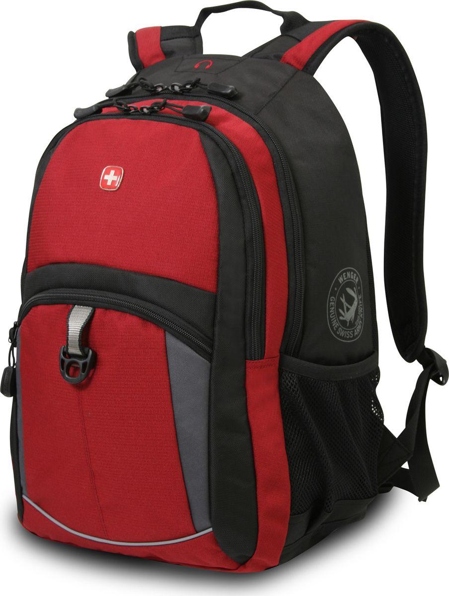 Рюкзак  Wenger , цвет: черный, 22 л - Рюкзаки