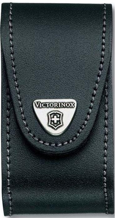 Чехол на ремень Victorinox для ножей 91 мм толщиной 5-8 уровней, кожаный, цвет: черный
