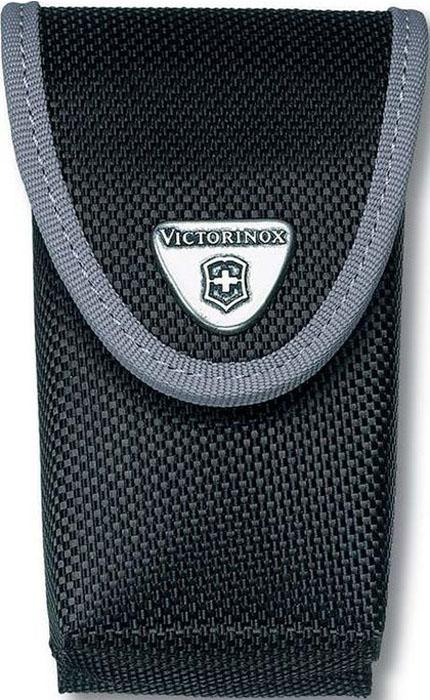 Чехол на ремень Victorinox для ножей 111 мм 4-6 уровней, с отделением под фонарь, нейлоновый, цвет: черный чехол для ножей victorinox 4 0520 3b1