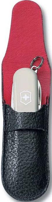 Чехол Victorinox для ножей-брелоков 58 мм толщиной 2-3 уровня, кожаный, цвет: черный4.0662Чехол Victorinox для ножей-брелоков 58 мм толщиной 2-3 уровня. Выполнен из черной кожи. Минималистичный дизайн и качество - все что нужно для удобного хранения.