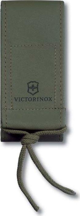Чехол на ремень Victorinox для ножей 111 мм и SwissTool Spirit, из искусственной кожи, цвет: зеленый чехол для ножей victorinox 4 0523 3b1