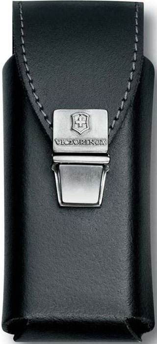 Чехол на ремень Victorinox для мультитулов SwissTool Plus, на пружинной защелке, кожаный, цвет: черный4.0833.L2Чехол на ремень Victorinox для мультитулов SwissTool Plus на пружинной защёлке выполнен из натуральной кожи.