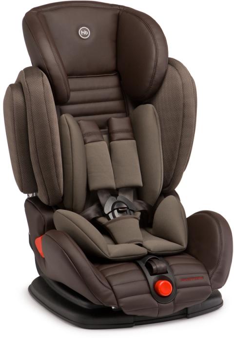 Happy Baby Автокресло Mustang Brown цвет темно-коричневый 9-36 кг детское автокресло happy baby skyler blue