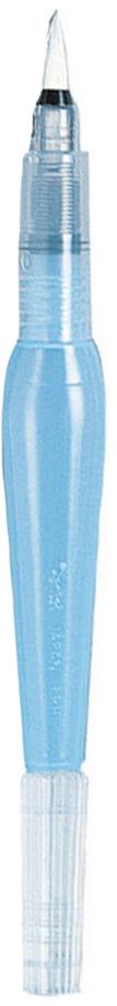 Кисть с резервуаром Pentel Aquash Brush, средняяXFRH/1-MКисть Pentel Aquash Brush - это средняя кисть для рисования на бумаге, картоне, холсте в технике акварели с резервуаром для воды и тонким наконечником изсинтетического ворса. Этот уникальный инструмент для рисования объединяет всебе и кисть, и емкость для воды! Все, что нужно для начала работ, - это налить водыв резервуар. При нажатии на мягкий корпус вода поступает к кисти. Стряхиванием скисти капелек воды можно создать интересный эффект на картине. Такой кистьюкраски легко смешиваются и эффект размытости получается чистым и прозрачным.Длина кисти: 15,5 см.
