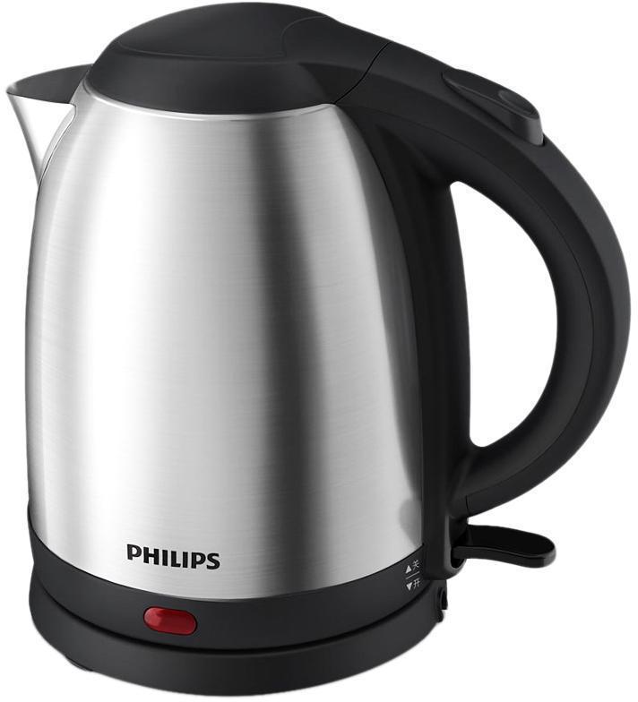 Philips HD9306/02 электрический чайникHD9306/02Корпус нового электрического чайника Philips выполнен изпищевой нержавеющей стали, что обеспечивает быстроекипячение воды и безопасность.Датчик подачи пара, защита от выкипания и перегрева. Точнаярегулировка температуры, высокая надежность. Беспроводнаяподставка поворачивается на 360° для удобногоиспользования.