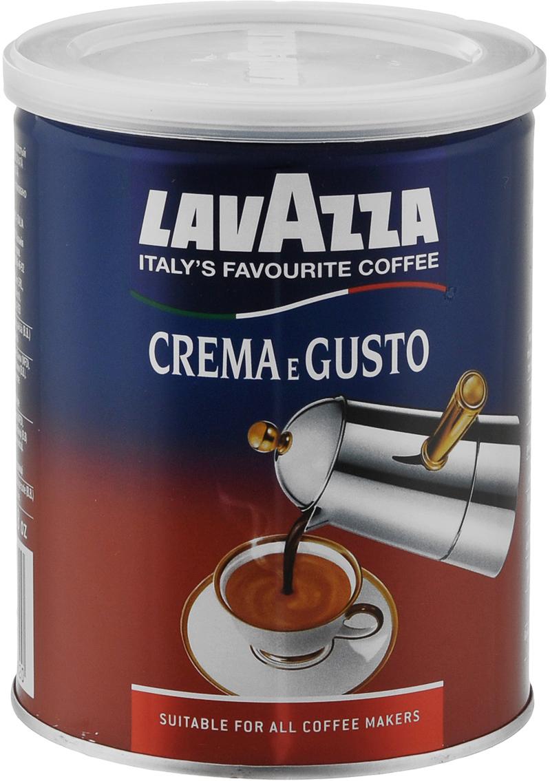 Lavazza Crema e Gusto кофе молотый, 250 г3882Молотый кофе Lavazza Crema e Gusto представляет собой уникальной смесь премиум класса, состоящую из бразильской арабики и индийской робусты в соотношении 30 % на 70 %. Смесь Lavazza Crema e Gusto отличается восхитительным ароматом и интенсивным, крепким вкусом. Зерна кофе, прошедшие сильную обжарку, придают смеси длительное шоколадно-ореховое послевкусие. Кофе: мифы и факты. Статья OZON ГидУважаемые клиенты! Обращаем ваше внимание на возможные изменения в дизайне упаковки. Поставка осуществляется в зависимости от наличия на складе.