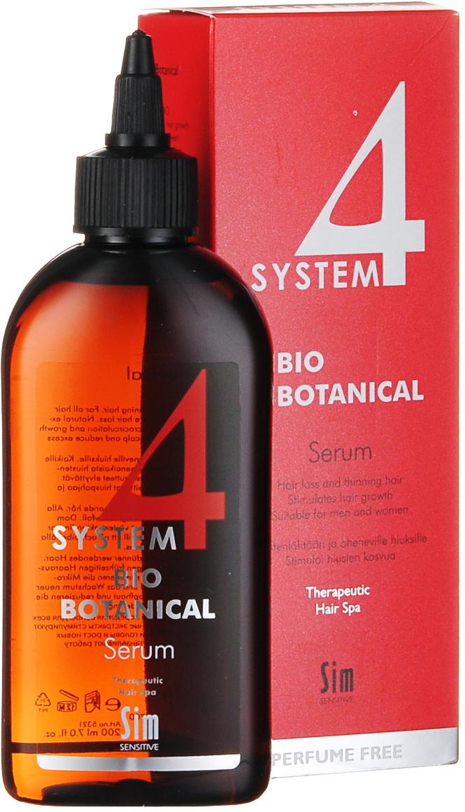 SIM SENSITIVE Био Ботаническая Сыворотка SYSTEM 4 Bio Botanical Serum , 200мл био сыворотка gluta complex bio serum provamed глута комплекс 30 мл