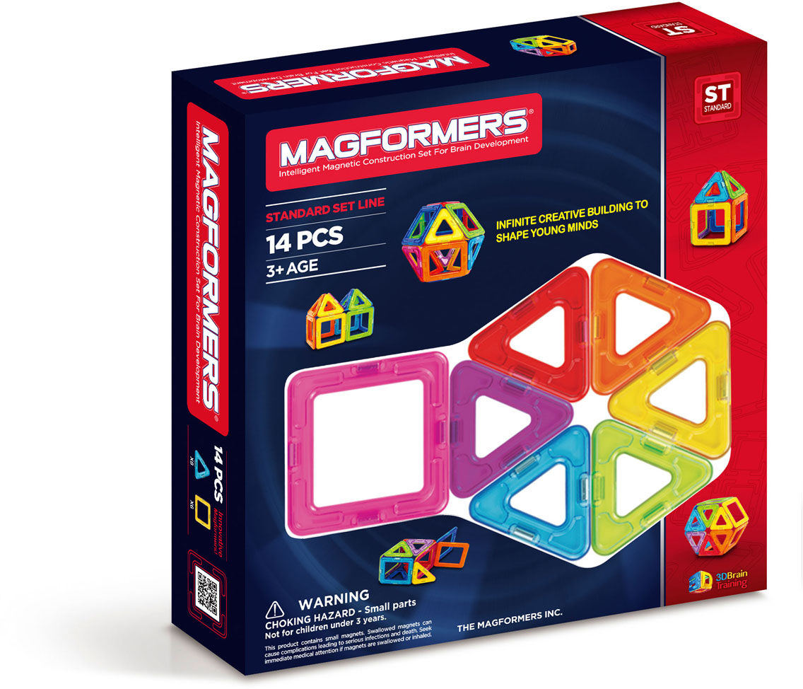 Magformers Магнитный конструктор Standart Set Line магнитный конструктор magformers r c cruiser set 707003 63091 page 6