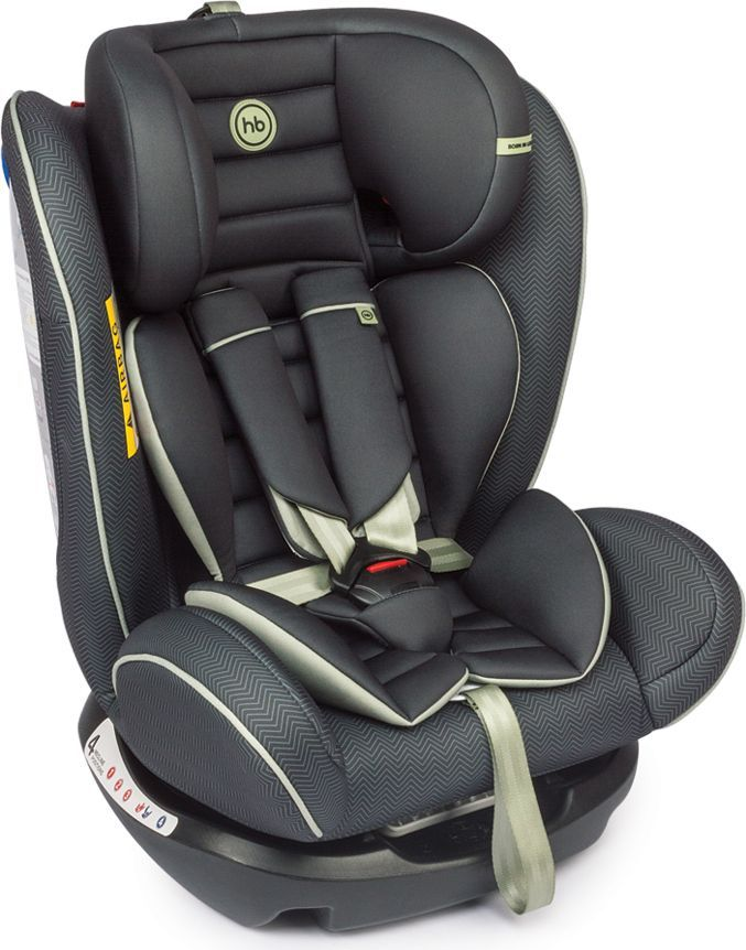 Happy Baby Автокресло Spector Black 0-36 кг автокресло happy baby skyler v2 black 4690624020872
