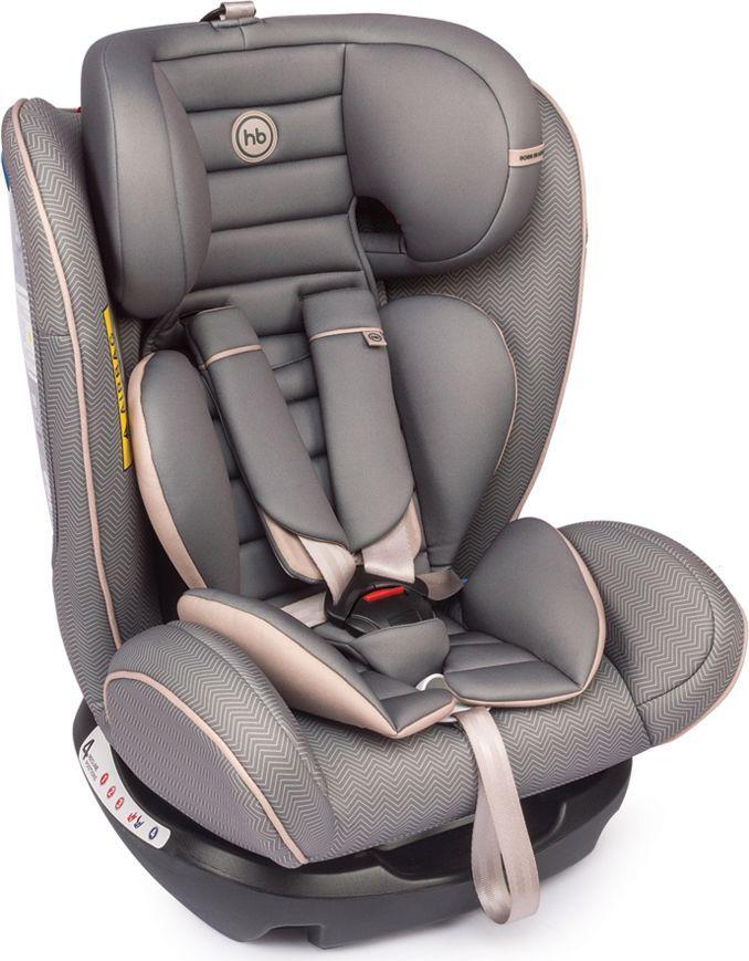Happy Baby Автокресло Spector Grey 0-36 кг автокресло happy baby spector gray