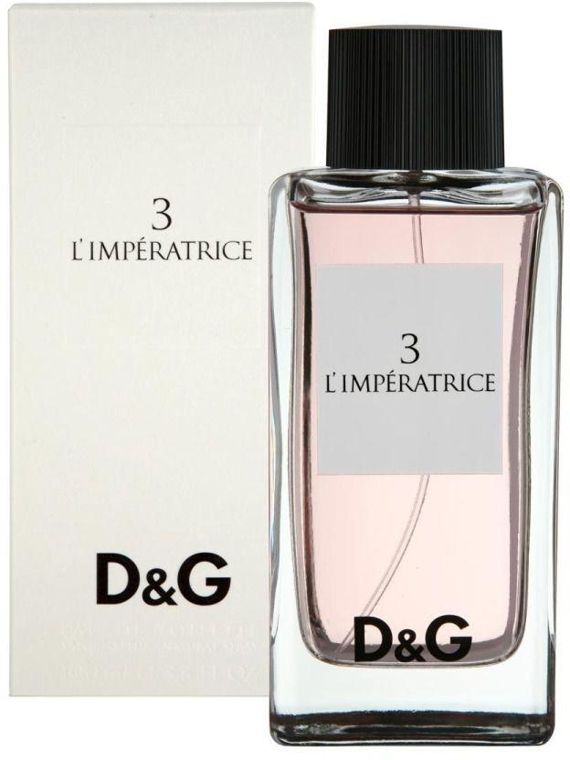 Dolce & Gabbana Туалетная вода 3 L'Imperatrice, женская, 100 мл dolce & gabbana dolce rosa парфюмерная вода 75 мл