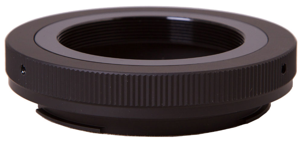 Bresser 26780 Т-кольцо для камер Canon EOS M4226780Т-кольцо Bresser 26780 служит для соединения зеркального фотоаппарата и телескопа для съемки в прямом фокусе. С одной стороны оно крепится к байонету камеры Canon EOS, а с другой - к фокусеру телескопа, имеющему стандартную Т-резьбу или к специальному Т-адаптеру, совместимому с любым фокусером стандарта 1,25 или 2 дюйма.Крепление к телескопу: Т-резьба (M42x0,75) Крепление к камере: байонет стандарта Canon EOS