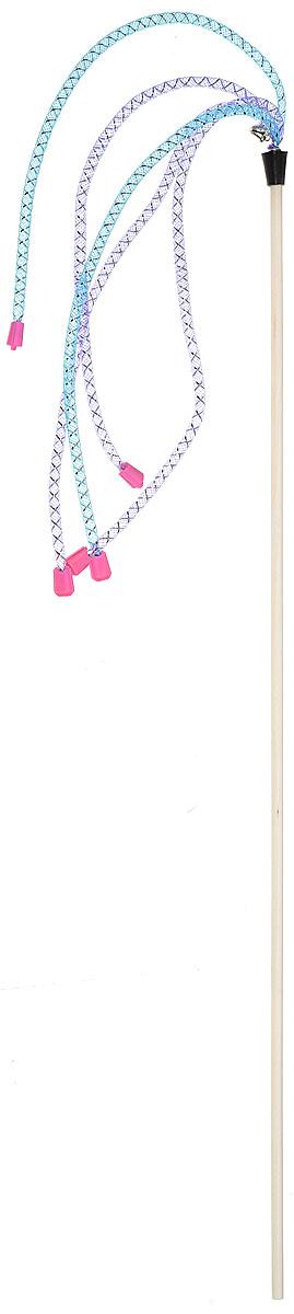 Игрушка-дразнилка для кошек GoSi Трубочки длинные с наконечниками, длина 50 см игрушка для кошек zoobaloo дразнилка салют длина 40 см