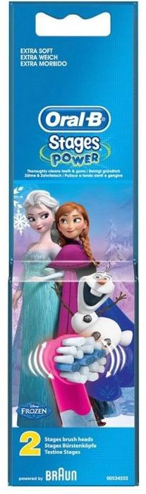 Oral-B сменные насадки для Vitality Kids Frozen, 2 шт