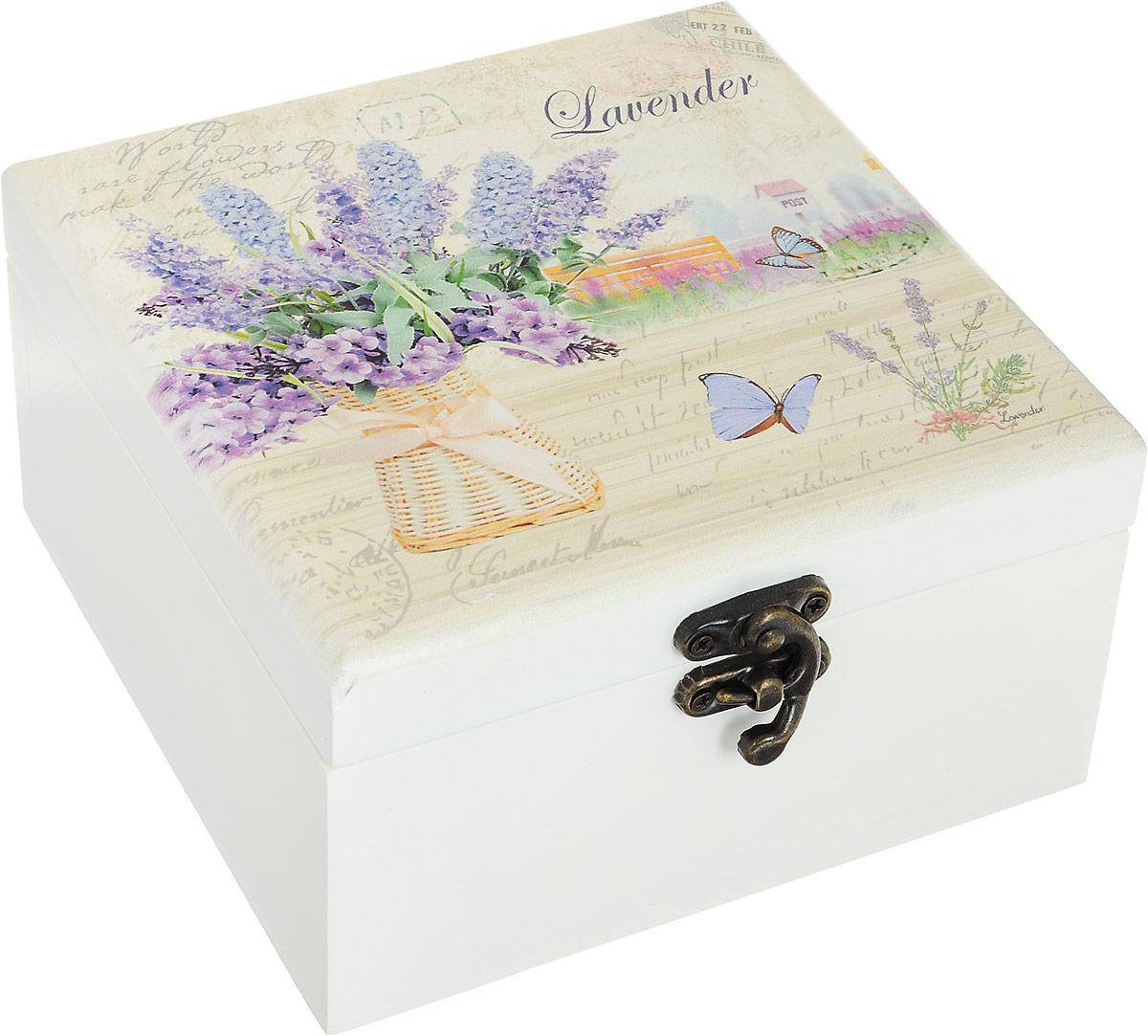 Шкатулка для ювелирных украшений Win Max, 15 х 16 х 9 см. 38833 шкатулка для украшений umbra trinity цвет белый 13 9 х 13 9 х 8 9 см