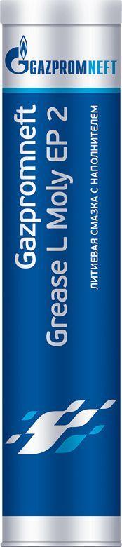 Смазка Gazpromneft Grease L Moly EP 2, 400 гр2389906878Смазка Gazpromneft Grease L Moly EP 2 - многофункциональная литиевая смазка с содержанием противозадирных присадок (ЕР-присадок) и твердого наполнителя (дисульфида молибдена).Высокие эксплуатационные показатели и способность выдерживать высокие нагрузки в тяжелых условиях эксплуатации достигаются благодаря содержанию EP-присадок и дисульфида молибдена. Наличие дисульфида молибдена обеспечивает защиту поверхностей даже при применении недостаточного количества смазки или в условиях особой загрязненности рабочей среды. Превосходная защита от износа и заклинивания. Увеличение продолжительности эксплуатации деталей в широком диапазоне температур от -30°C до +120°C, кратковременно до +150°C. Имеет превосходную сопротивляемость к коррозийному действию воды, препятствуя образованию ржавчины и разъеданию. Обладает хорошей прокачиваемостью даже при низких температурах. Применяется для смазывания тракторов, экскаваторов, бульдозеров, вилочных и фронтальных погрузчиков, дробилок, вибрационных сит и другого промышленного оборудования и транспортных средств, работающих в тяжелых условиях эксплуатации при сверхвысоких нагрузках.