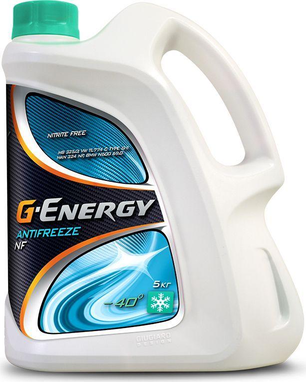 Антифриз G-Energy NF 40, 5 кг2422210119G-Energy Antifreeze NF 40 - готовая к применению охлаждающая жидкость на основе этиленгликоля для применения в двигателях внутреннего сгорания с температурой защиты от замерзания -40?С.Содержит гибридный пакет ингибиторов коррозии на основе солей органических кислот и силикатов. Не содержит в своем составе нитритов, аминов, фосфатов и боратов (NF - Nitrite Free). Предохраняет двигатель от коррозии, перегрева и размораживания. Обеспечивает высшую степень коррозионной защиты для блока цилиндров, головки блока, радиатора, помпы, теплообменников.Официальные допуски:Mercedes Benz 325.0, MAN 324 NF, Deutz, JenbacherСоответствует требованиям:BMW, Eicher, Liebherr, MAN B&W, Rolls Royce, Tesla, Van Hool, Zastava, AUDI(1981-1996), Land Rover (1998 - 2005), Mercedes-Benz(1976 - 2014), Volvo Trucks (до 2005), Mitsubishi(Carismaonly–1996 - 2004), Mitsubishi(Colt only–2004 -2007), Opel(1975 -2000), Porsche(до 1995), Saab(1975 -2000), Seat(1985 -1996), Skoda(1989 -1998), Smart(1998 to2013), VW(1975 -1996).Срок эксплуатации – 4 года