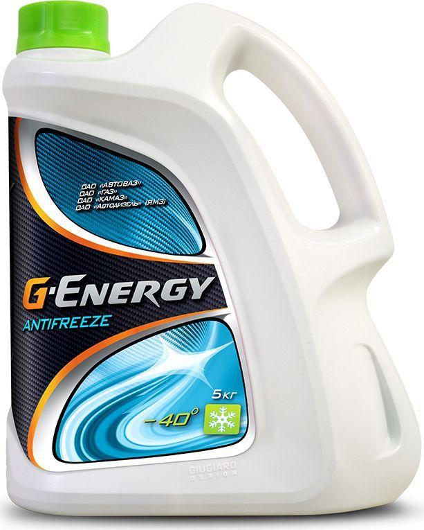 Антифриз G-Energy 40, 5 кг2422210126G-Energy Antifreeze 40 - готовая к применению охлаждающая жидкость на основе этиленгликоля для применения в двигателях внутреннего сгорания с температурой защиты от замерзания -40?С.Пакет присадок, сформированный на основе карбоновых кислот, обеспечивает надежную и долговременную защиту от коррозии, набухания резины.Содержит пакет ингибиторов коррозии по карбоксилатной технологии. Не содержит в своем составе силикатов, нитритов, аминов, фосфатов и боратов. Обеспечивает антикоррозионную защиту всех металлов и сплавов, используемых в двигателях внутреннего сгорания. Эффективно защищает двигатель, радиатор, водяной насос и теплообменник от перегрева, размораживания, образования отложений и засоров.Соответствует британскому стандарту BS 6580:2010Соответствует требованиям:АВТОВАЗ, ГАЗ, КАМАЗ, МАЗ, ПАЗ, ЛИАЗ, НЕФАЗ, УРАЛ, УАЗТакже применимо для подержанных иностранных легковых автомобилей и легких коммерческих грузовиков в постгарантийный период эксплуатации.Срок эксплуатации до 2 лет или 100000 км, что наступит ранее.