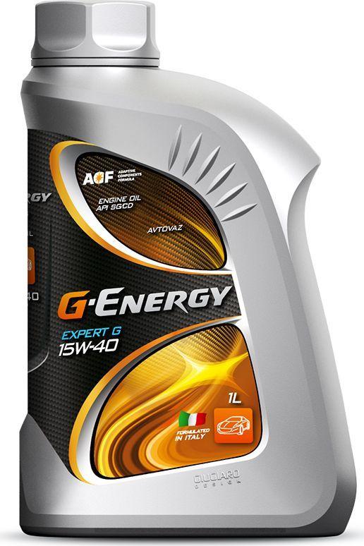 Масло моторное G-Energy Expert G 15W-40, API SG/CD, минеральное, 1 л253140269Минеральное моторное масло, изготавливается с использованием качественных базовых масел и специально разработанной композиции присадок. Обеспечивают хорошие антиокислительные, противоизносные и антикоррозионные свойства. Обладает хорошими моющими свойствами, которые предотвращают процесс образования отложений на внутренних поверхностях деталей двигателя. Повышает эффективность работы двигателя. Поддерживает продукты износа и загрязнения во взвешенном состоянии. Обладает высокой стабильностью к старению и изменению вязкостно-температурных показателей. Не загустевает в процессе работы, обеспечивая хорошую текучесть и циркуляцию. За счет улучшенной совместимости с материалами уплотнений снижает вероятность возникновения утечек масла. За счет стабильной масляной пленки на деталях двигателя и использования высокоэффективных противоизносных присадок обеспечивается максимальный ресурс двигателя.Одобрения / Соответствия / Уровень свойств: OAO «ABTOBA3»