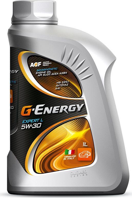 Масло моторное G-Energy Expert L 5W-30, API SL/CF, ACEA A3/B3/B4, полусинтетическое, 1 л253140272Полусинтетическое моторное масло, изготовленное с использованием синтетических базовых компонентов и специально подобранной композиции присадок. Обеспечивает надёжную масляную пленку и защиту деталей двигателя от износа при различных условиях эксплуатации (включая работу в условиях низких температур). Увеличенное щелочное число масла повышает способность масла к нейтрализации продуктов, образовавшихся в процессе работы двигателя, предотвращает ускоренное окисление масла и обеспечивает сохранение эксплуатационных свойств на протяжении всего срока службы смазочного материала, в том числе и в двигателях постгарантийных автомобилей. Улучшенные моющее-диспергирующие свойства препятствуют образованию различного рода отложений на деталях двигателя, поддерживая чистоту и обеспечивая максимальный ресурс работы двигателя. Сохраняет стабильные вязкостно-температурные свойства в течение всего срока эксплуатации. За счет хорошей совместимости с различными материалами уплотнений сохраняет их эластичность, снижая тем самым вероятность возникновения утечек масла. Обеспечивает надёжную смазку пар трения при длительной работе на максимальных скоростях и нагрузках. Снижает износ деталей двигателя и обеспечивают защиту двигателя в течение всего срока эксплуатации. Одобрения / Соответствия / Уровень свойств: ACEA A3/B4, MB 229.1, ОАО «АВТОВАЗ», Сертифицировано ААИ