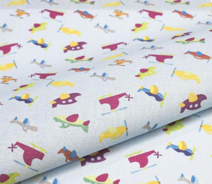Ткань Кустарь Детские фантазии №3, цвет: голубой, серый, желтый, сиреневый, 48 х 50 смAM627003Ткань Кустарь - это высококачественная ткань из 100% хлопка, которая отлично подходит дляпошива покрывал, сумок, панно, одежды, кукол. Также подходит для рукоделия в стилескрапбукинг и пэчворк.Плотность ткани: 120 г/м2.Размер: 48 х 50 см.