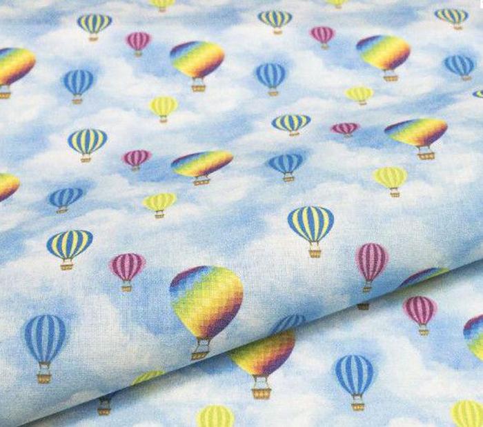 Ткань Кустарь Детские фантазии №4, цвет: голубой, желтый, синий, сиреневый, 48 х 50 смAM627004Ткань Кустарь - это высококачественная ткань из 100% хлопка, которая отлично подходит для пошива покрывал, сумок, панно, одежды, кукол. Также подходит для рукоделия в стиле скрапбукинг и пэчворк.Плотность ткани: 120 г/м2.Размер: 48 х 50 см.
