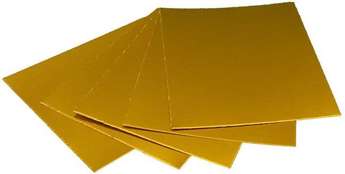 Картон дизайнерский Decoriton, цвет: золотой, А4, 5 шт9097002Дизайнерский картон формата А4 можно использовать в макетировании, как основу для поделки, скрапбукинга, фоторамок и альбомов, подходит для любых типов красок, лаковых, перманентных и любых других маркеров, декоративных гелевых ручек и всех типов карандашей.
