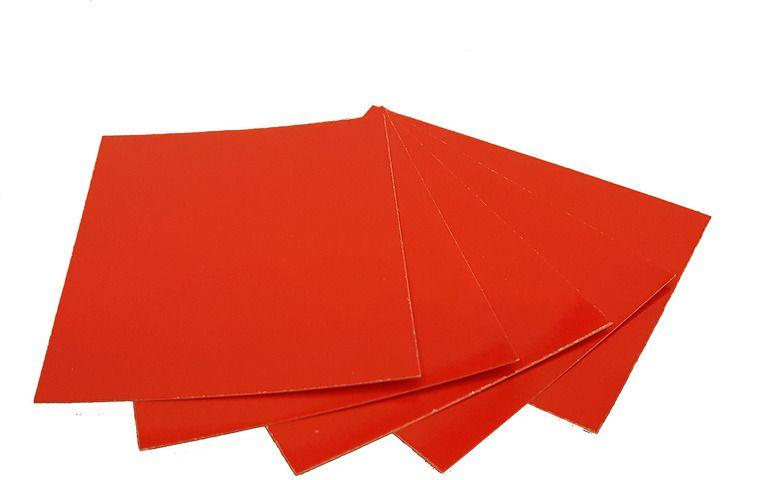Картон дизайнерский Decoriton, цвет: красный, А4, набор 5 шт9097006Картон дизайнерский, высокоглянцевыи? одностороннии? цветнои?, цвет красный, А4, плотность 250гр/м2, толщина 280 мкм. Артикул: 9097006. Картон можно использовать в макетировании, как основу для поделки, скрапбукинга, фоторамок и альбомов, подходит для любых типов красок, лаковых, перманентных и любых других маркеров, декоративных гелевых ручек и всех типов карандашей.