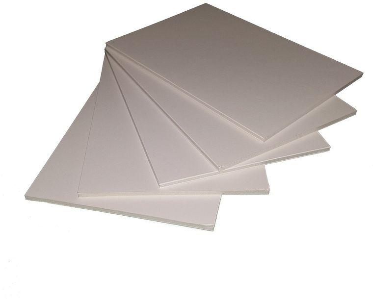 Пенокартон Decoriton, цвет: белый, 20 х 30 см, 5 шт. 9095000