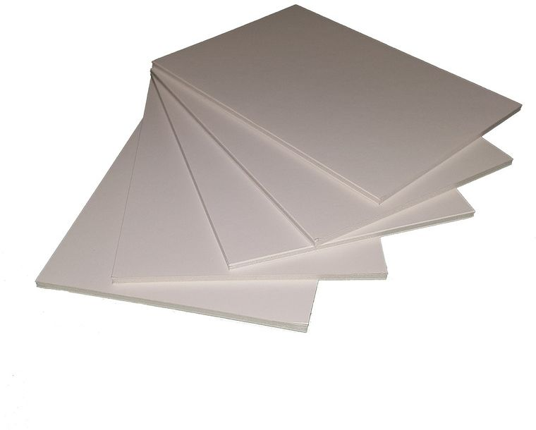 Пенокартон Decoriton, цвет: белый, 30 х 40 см, 5 шт. 9095001
