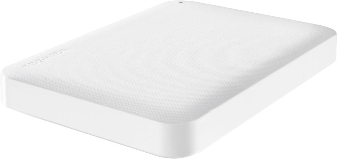 Toshiba Canvio Ready 1TB, White внешний жесткий диск (HDTP210EW3AA) - Носители информации