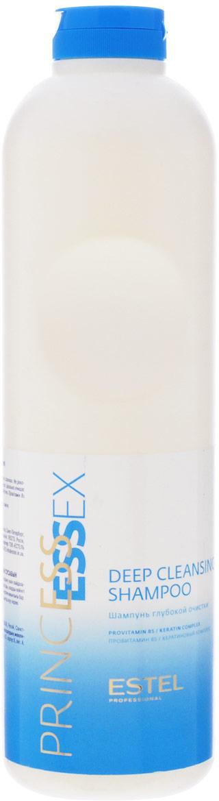 Estel Essex Princess Шампунь глубокой очистки 1000 млPC/1Estel Essex Шампунь глубокой очистки - профессиональный шампунь для всех типов волос. Идеально очищает волосы, оптимально подготавливает их для дальнейшей работы. Содержит Провитамин В5 и кератиновый комплекс. Внимание! Только для профессионального использования парикмахерами для подготовки волос к салонным процедурам.