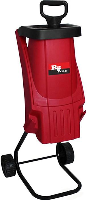 """Измельчитель садовый RedVerg """"RD-GS240"""" - это агрегат, предназначенный для переработки мелких веток деревьев или кустов диаметром до 40 мм. Благодаря высокой скорости вращения режущего элемента на выходе получается мелкая мульчу, которую можно использовать в декоративных целях - посыпать в междурядье или утеплить растения на зиму."""