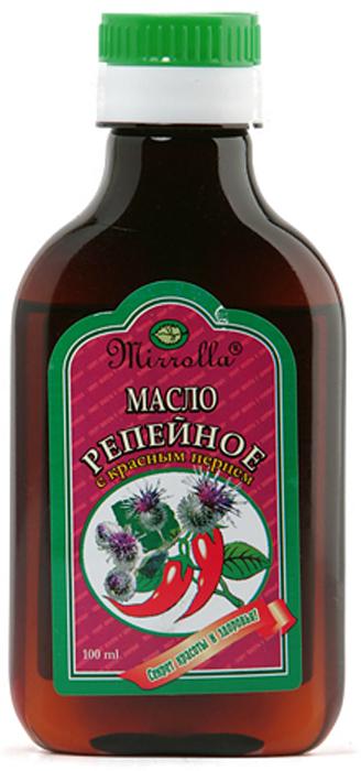 Репейное масло с красным перцем 100мл корни корни новое и лучшее