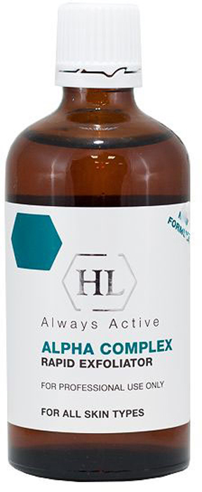 Holy Land Химический пилинг Alpha Complex Multifruit System Rapid Exfoliator, 100 мл face lotion alpha complex