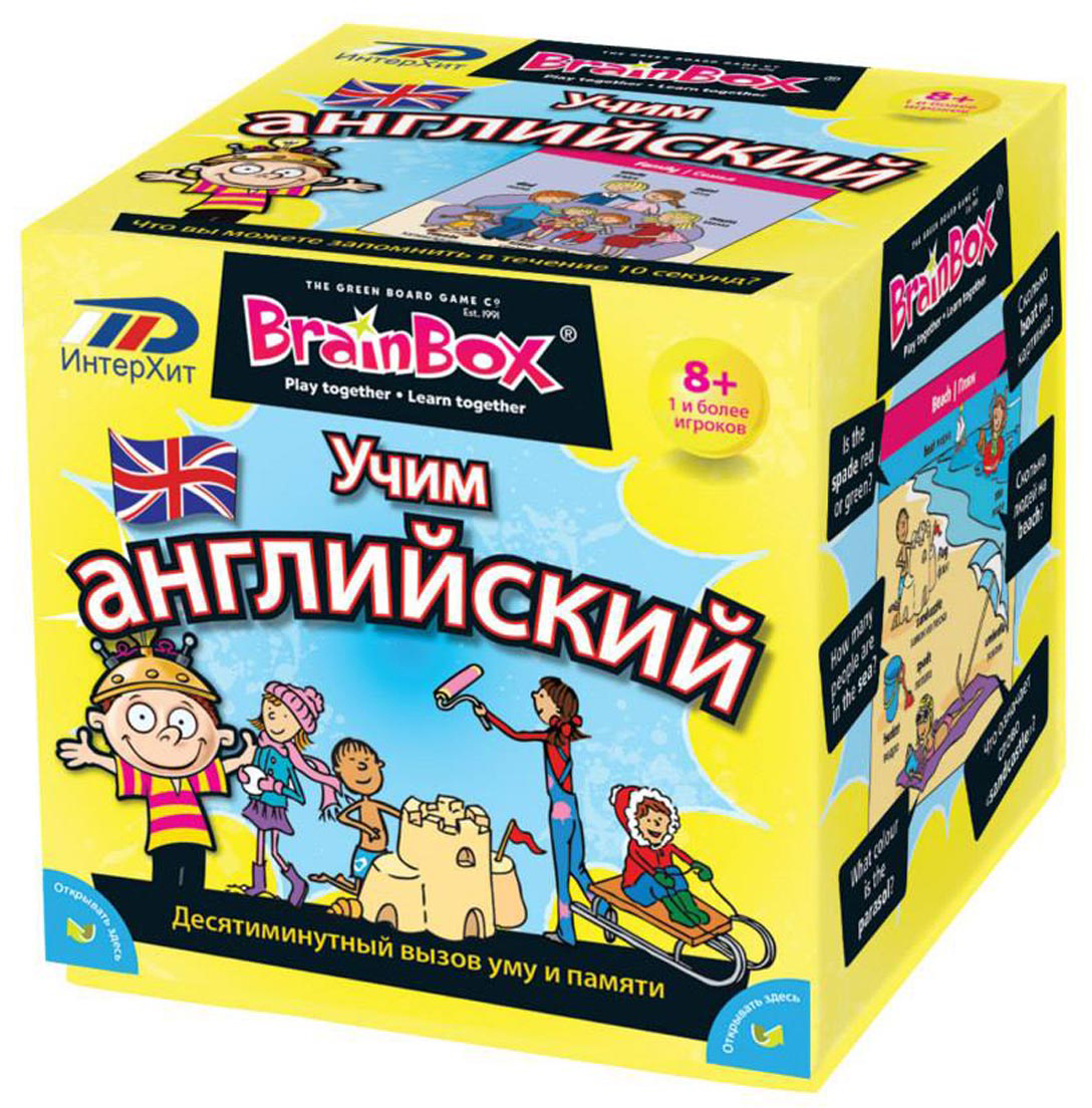 ИнтерХит Обучающая игра Учим английский brainbox brainbox игра сундучок знаний россия
