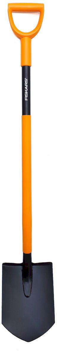 Лопата штыковая Fiskars Solid Plus, 122 см лопата штыковая skrab без черенка 28101