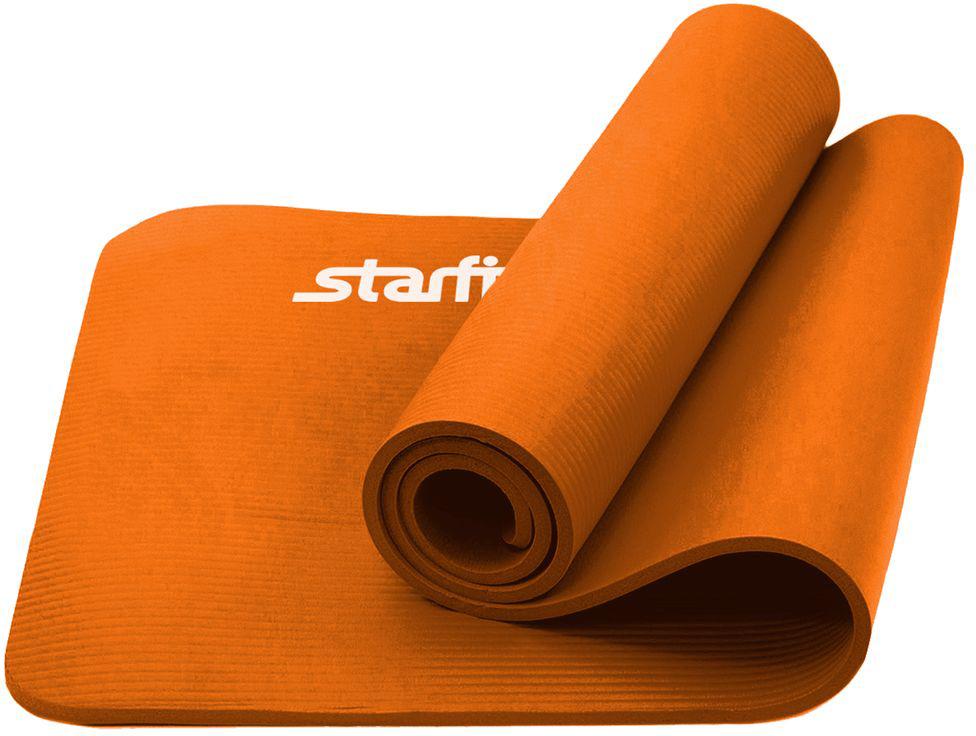 Коврик для йоги Starfit FM-301, цвет: оранжевый, 183 x 58 x 1,5 смУТ-00008851Коврик для йоги Starfit FM-301 предназначен для занятий фитнесом и йогой. Выполнен из современного синтетического материала NBR, не вызывающего раздражения на коже. Незаменимый аксессуар для любого спортсмена как во время тренировки, так и во время пре-стретчинга и стретчинга (растяжки до и после тренировки). На коврике следует заниматься без обуви, чтобы избежать разрыва поверхности коврика. Помимо йоги может использоваться для фитнес-тренировок, выполнения упражнений по растяжке (стретчингу). Перед первым использованием новый коврик рекомендуется протереть влажной тканью с мылом.