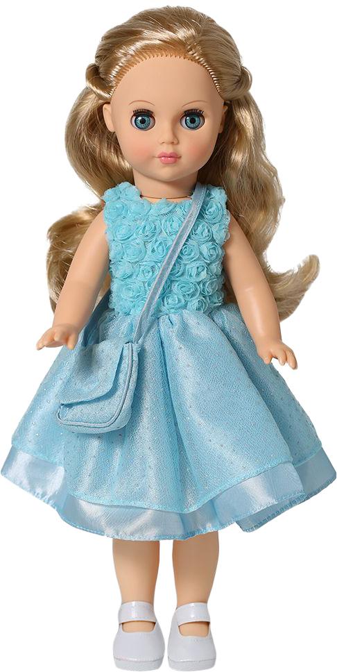 Весна Кукла Мила цвет платья голубой