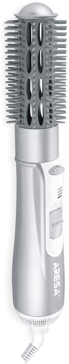 Aresa AR-3207 фен-расческаAR-3207Компактный многофункциональный фен-расческа Aresa AR-3207 с тремя режимами нагрева воздушного потока подойдет как для неторопливой сушки, так и для интенсивной укладки волос.