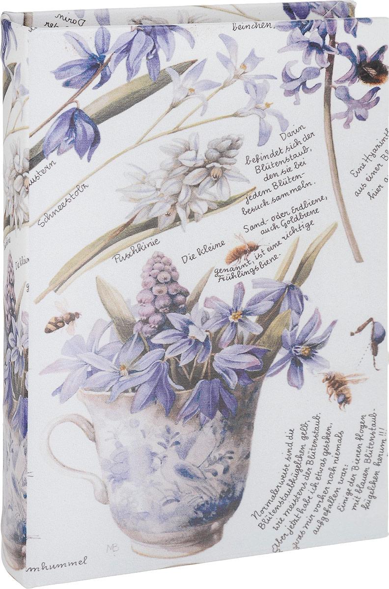 Шкатулка-фолиант Win Max Весенние цветы, 21 х 14 х 3 см184279Шкатулка-фолиант Win Max Весенние цветы выполнена в виде книги. Оригинальное оформление шкатулки, несомненно, привлечет к себе внимание.Поверхность шкатулки-фолианта выполнена из МДФ и искусственной кожи и декорирована оригинальным рисунком. Закрывается шкатулка на замок-магнит.Такая шкатулка может использоваться для хранения бижутерии, в качестве украшения интерьера, а также послужит хорошим подарком для человека, ценящего практичные и оригинальные вещи.