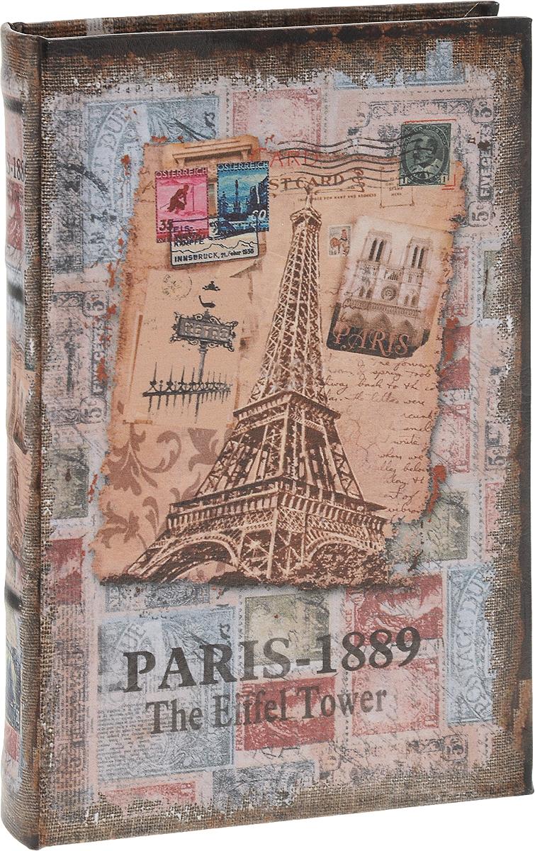 Шкатулка-фолиант Win Max Париж, 21 х 14 х 3 см184276Шкатулка-фолиант Win Max Париж выполнена в виде книги.Оригинальное оформление шкатулки, несомненно, привлечет к себе внимание.Поверхность шкатулки-фолианта выполнена из МДФ и искуственной кожи. Закрывается шкатулка назамок-магнит. Такая шкатулка может использоваться для хранения бижутерии, в качествеукрашения интерьера, а также послужит хорошим подарком для человека,ценящего практичные и оригинальные вещи.