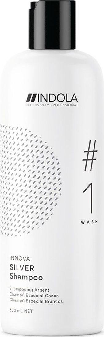 Indola Professional Нейтрализующий шампунь для волос с содержанием пурпурных пигментов Silver #1 Wash Innova, 300 мл2203560Нейтрализующий шампунь для волос с содержанием пурпурных пигментов, нейтрализует желто-медные тона, востанавливает структуру волоса, мягко очищает. Формула содержит Пиксельную Технологию. Применение: Нанесите шампунь на влажные волосы, вспеньте, оставьте для воздействия контролируя цветовой результат, тщательно смойте водой. Для достижения максимального результата используйте в комплексе с продуктами ухода линии COLOR