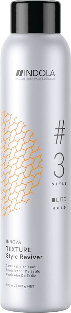 Indola Professional Сухой шампунь для волос Texture #3 Style Innova, 300 мл2204584Сухой шампунь для волос добавляет объем и фиксацию. Обсорбирует загрязнения, продлевает укладку. УФ-фильтр как часть Пиксельной Технологии защищает от УФ-лучей.Сухой шампунь: всё, что нужно знать. Статья OZON Гид