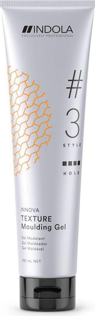 Indola Professional Моделирующий гель для волос Texture #3 Style Innova, 150 мл2204588Моделирующий гель, водоотталкивающий, нелипкий, ультрасильный гель. Прост в применении, обеспечивает великолепный блеск, быстро высыхает, легко смывается шампунем. УФ-фильтр как часть Пиксельной Технологии, помогает защитить волосы от УФ-лучей.