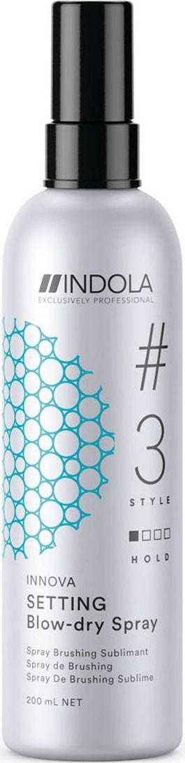 Indola Professional Спрей для быстрой сушки волос Setting #3 Style Innova, 200 мл цена 2017