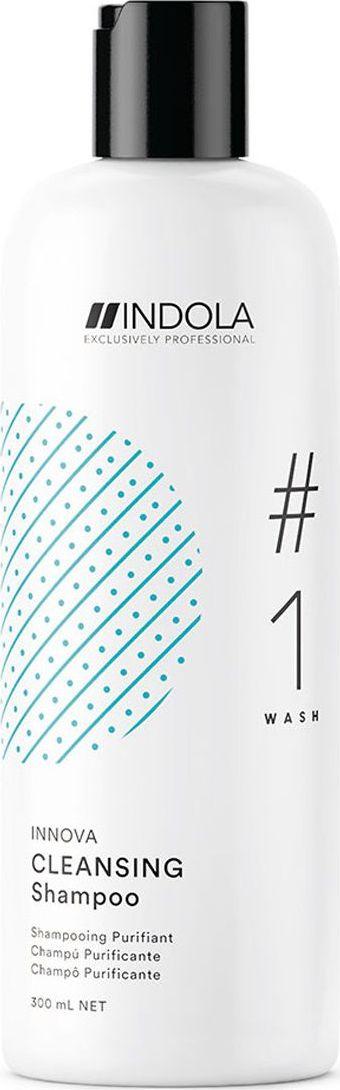 Indola Professional Очищающий шампунь для волос Cleansing #1 Wash Innova, 300 мл2206363Очищающий шампунь для волос обогащен экстрактом корня женьшеня, глубоко очищает, удаляет загрязнения, остатки продуктов стайлинга, освежает волосы и кожу головы, сохраняя питательные компоненты. Формула с Пиксельной Технологией возвращает волосам первозданное качество, обеспечивая сияние цвета.