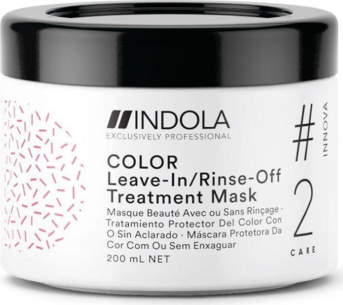 Indola Professional Маска для окрашенных волос Color #2 Care Innova, 200 мл81650071Маска для окрашенных волос с содержанием Протеинов Шёлка, обеспечивает глубокий уход, помогает зафиксировать цвет окрашенных волос, сохраняя его до 90% даже после 30 применений шампуня. Формула с Пиксельной Технологией возвращает волосам первозданное качество, обеспечивая сияние цвета.